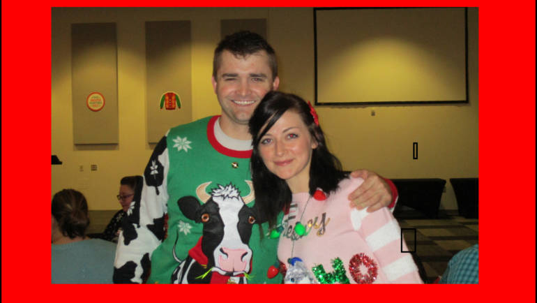 Vernon & Shannon Ugly Sweater Winners