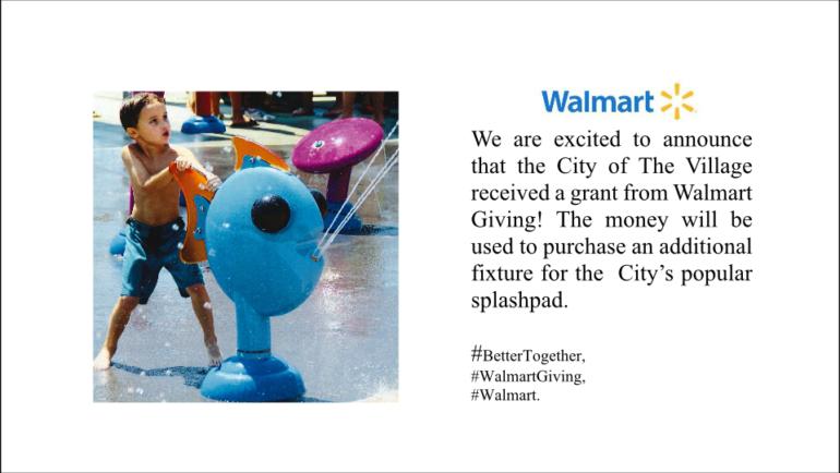 Thank You Walmart Giving!